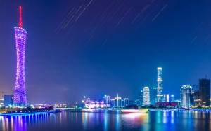 Гуанчжоу ночью