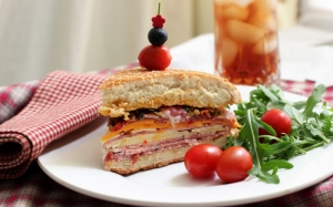 Сытный сэндвич