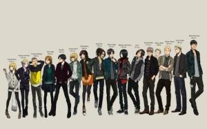 Вторжение титанов персонажи аниме