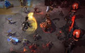 Heroes of the Storm сражение в игре