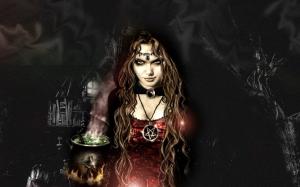 Готичная ведьма
