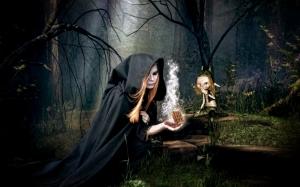 Лесная ведьма