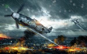War Thunder воздушный бой