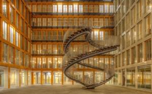 Лестница в мюнхенской библиотеке
