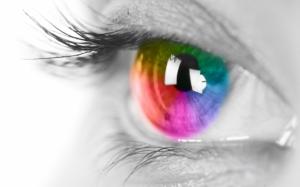 Радужный глаз