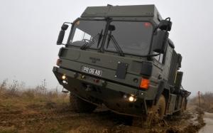 Военный грузовик MAN