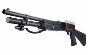 Ружье с лазерным прицелом