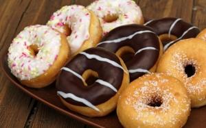 Разные пончики