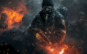 The Division огнеметчик