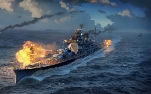 World of Warships боевой корабль