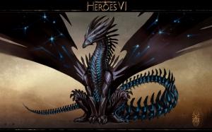 Heroes of Might and Magic 6 черный дракон