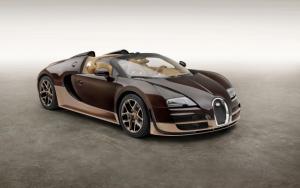 Коричневый Bugatti Veyron 16.4