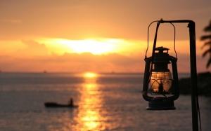 Старый фонарь