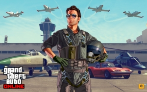 GTA 5 лётчик