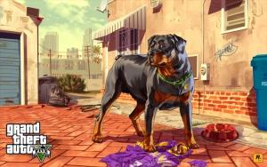 Пёс Чоп Grand Theft Auto V