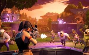 Fortnite атака зомби
