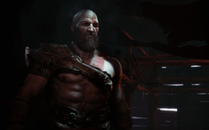 God of War 4 Кратос с бородой