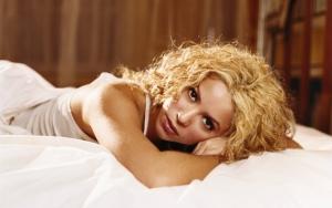 Шакира в постели