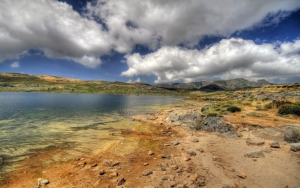 Высыхающее озеро