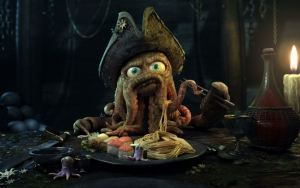 Пират осьминог