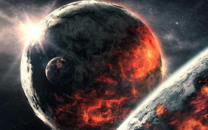 Огненные планеты