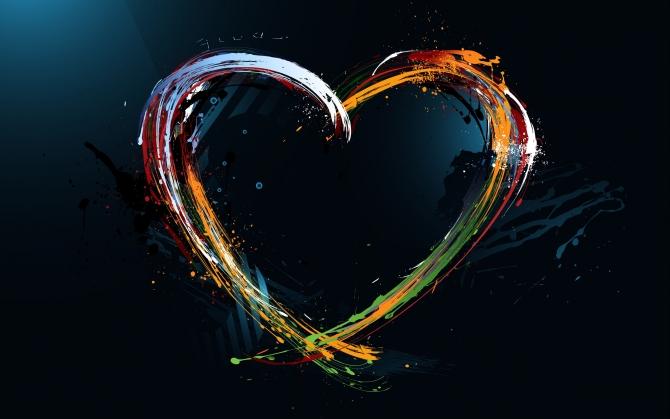 Абстрактное сердечко