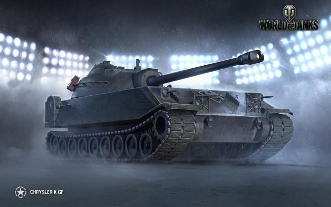 Chrysler K GF World of Tanks