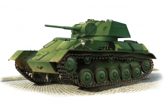 Советский танк Т-80