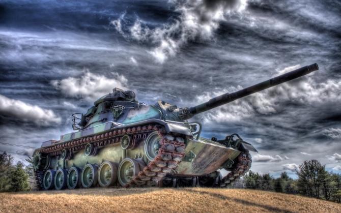 Крутой танк