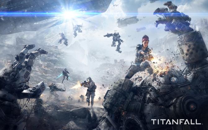 Titanfall падение титана