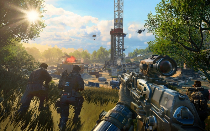 Call of Duty: Black Ops 4 отряд