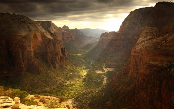Зеленый каньон