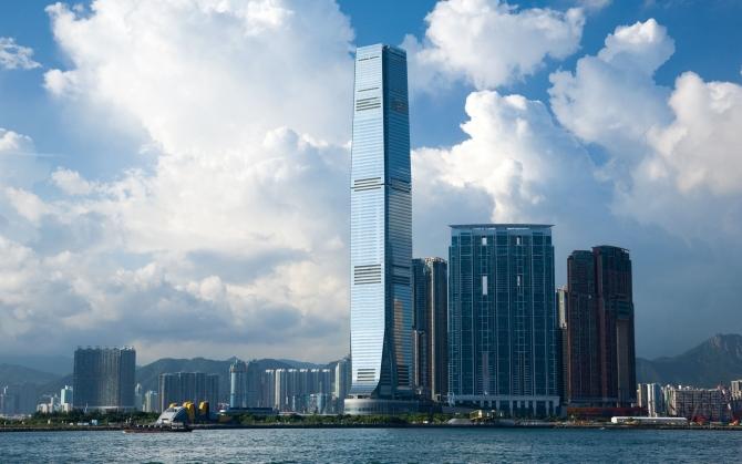 Небоскреб в Гонконге