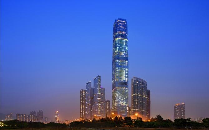 Ritz Carlton в Гонконге