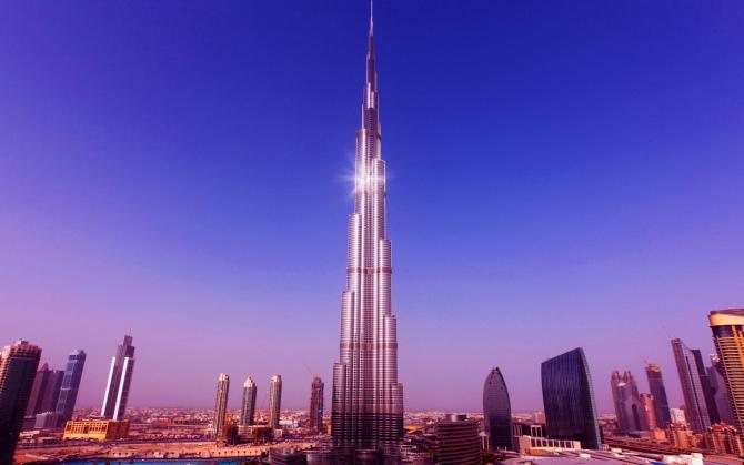 Самый высокие небоскреб в мире