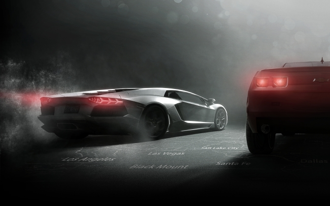 The Crew Lamborghini