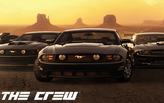 The Crew Ford Mustang