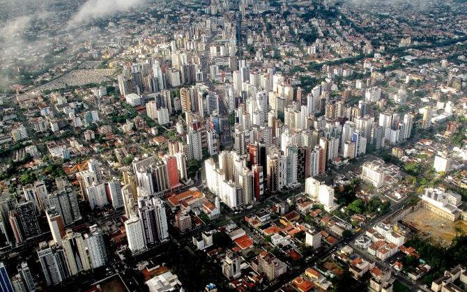 Куритиба вид на город