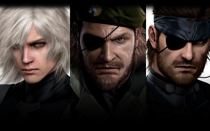 Metal Gear Solid 3d персонажи