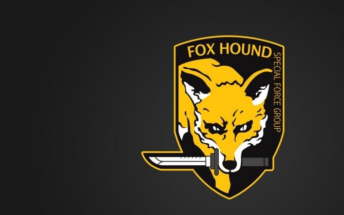 Metal Gear Solid значок Fox Hound