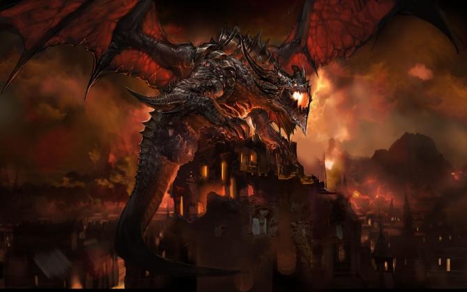 Могучий дракон