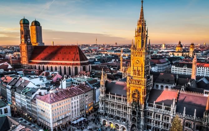 Мариенплац Мюнхен