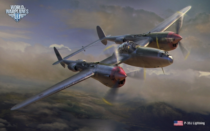 World of Warplanes P-38J Lightning