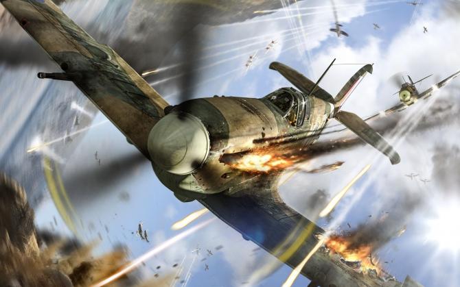 World of Warplanes подбит