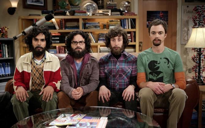 Теория большого взрыва с бородой