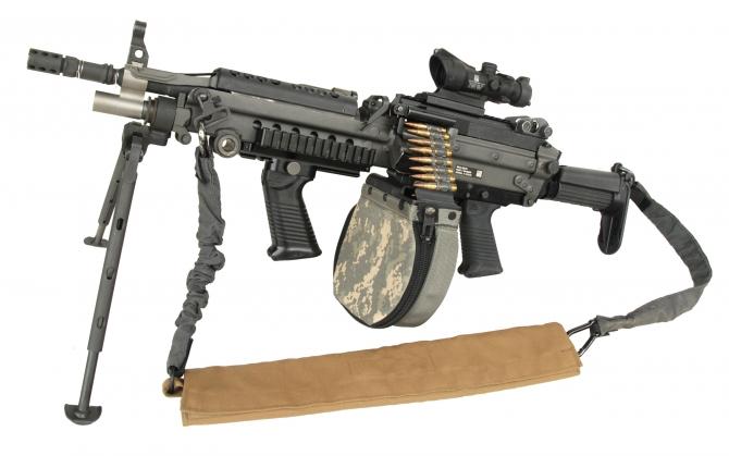 Военный пулемет