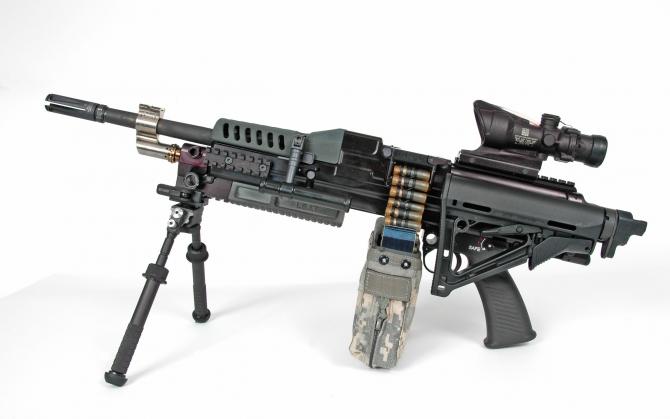 Пулемет LSAT