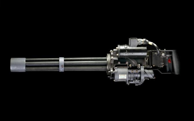 Аэро пулемет М134