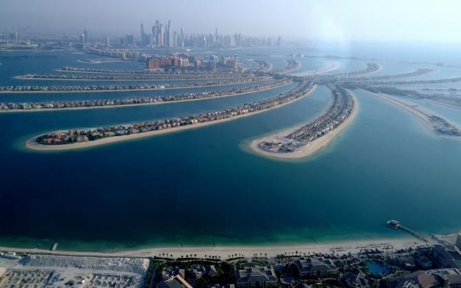 Пальмовый остров Дубай