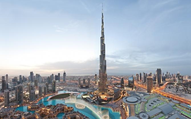 Башня Халифа ОАЭ
